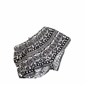 Justice Aztec Pattern Shorts Girls 8 Draw String